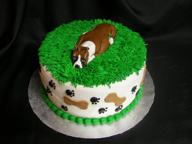 Birthday Cake Images Dogs : BOXERS (